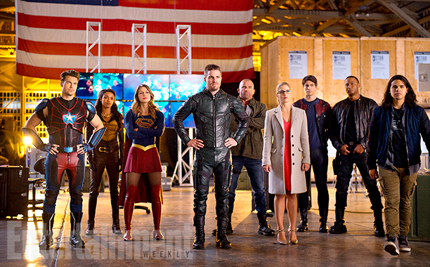CW DC Comics Crossover Pictures