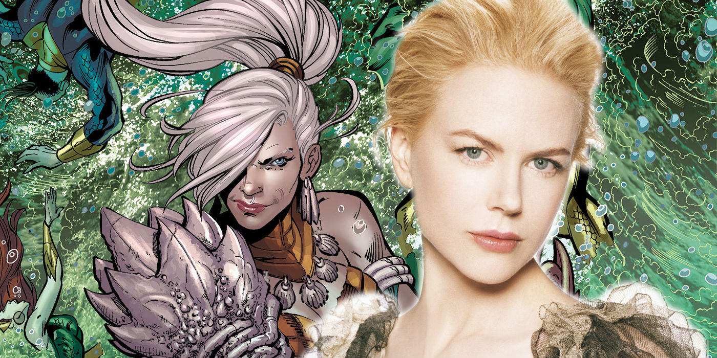 Nicole Kidman on her Aquaman role
